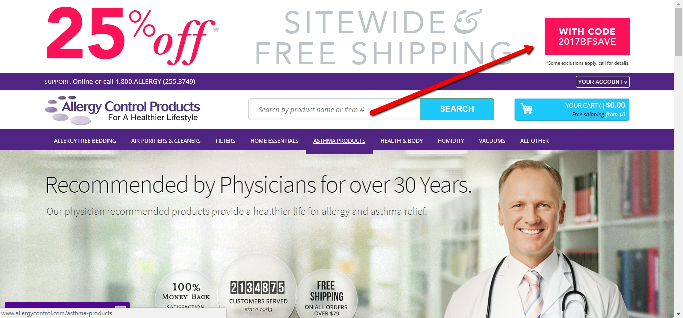 National allergy coupon free shipping