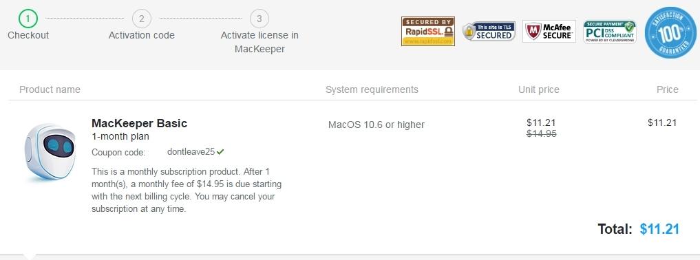Mackeeper coupon code 50 off