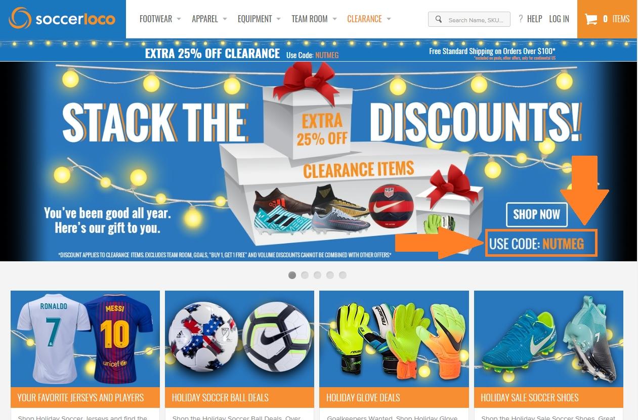 Soccerloco coupons code