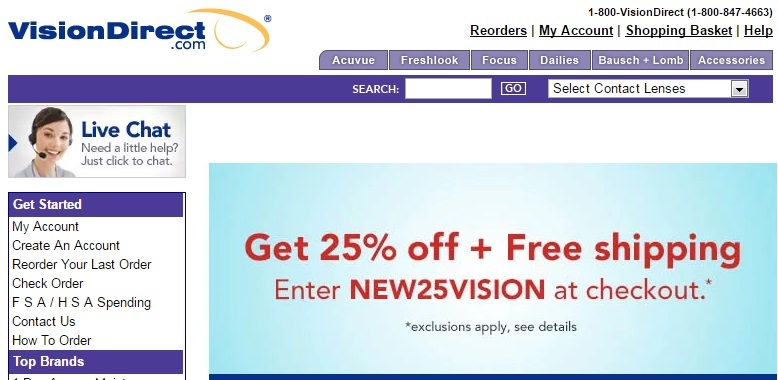 just lenses coupon code free shipping