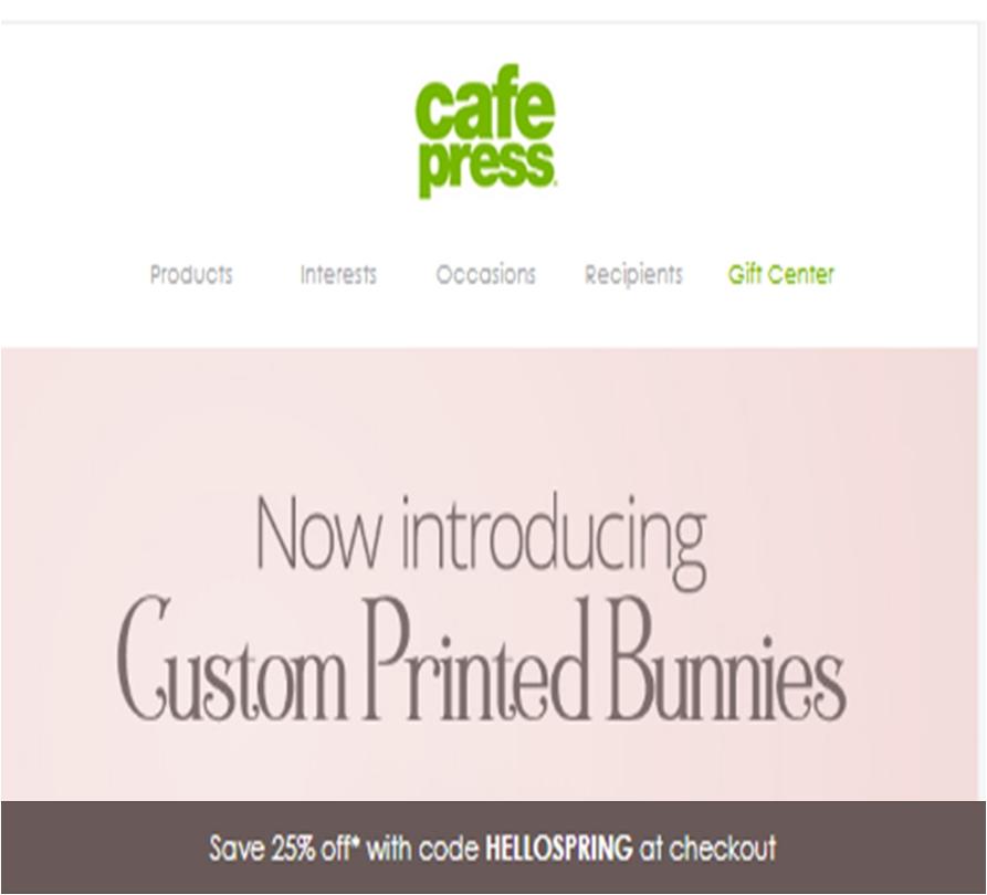 Cafe press coupon code