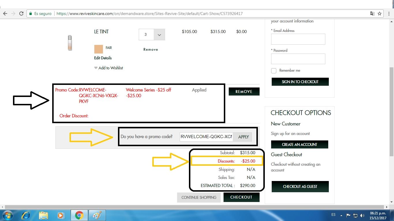 Revive coupon code