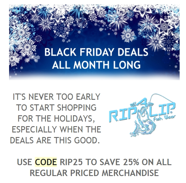 30 off rip a lip fish wear coupon code 2017 all feb for Rip a lip fish wear