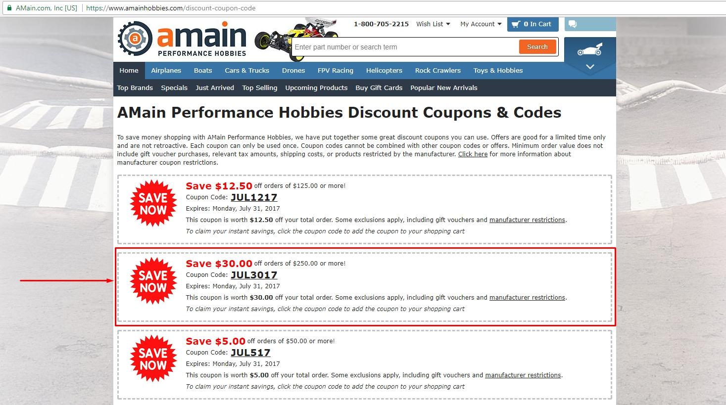 Amain coupon code