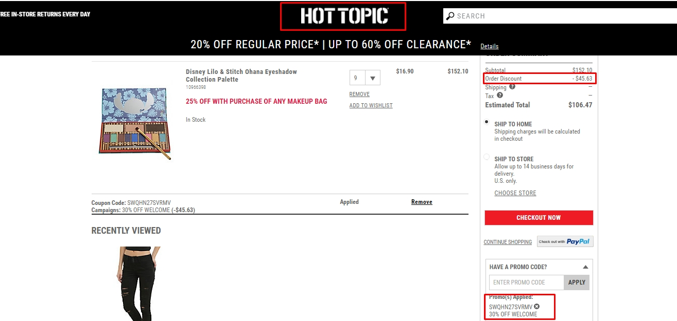 graphic regarding Hot Topic Printable Coupon identify Scorching subject 50 off code / Sephora adult men fragrance