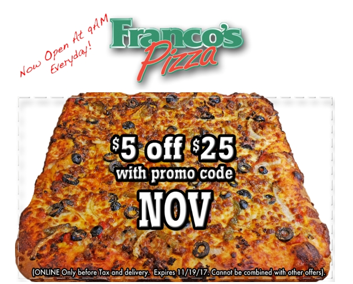 Francos coupons