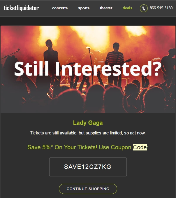 Find Ticket Liquidator Promotional Codes, Ticket Liquidator Coupon Codes and Ticket Exclusive Coupon Offers · Never Pay Full Price · Codes Validated Daily.
