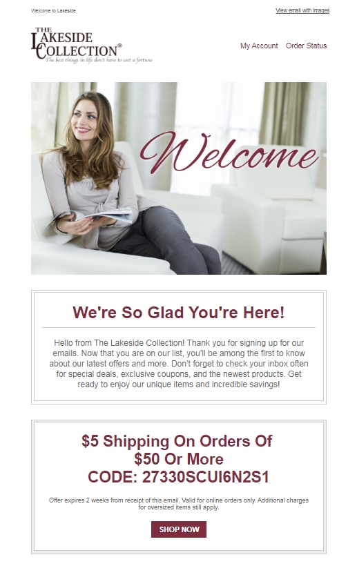 Lakeside collection coupon october 2018