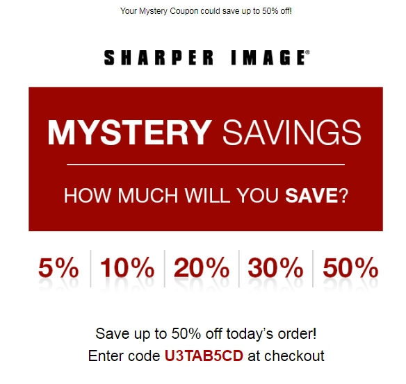 This includes tracking mentions of Sharper Image coupons on social media outlets like Twitter and Instagram, visiting blogs and forums related to Sharper Image products and services, and scouring top deal sites for the latest Sharper Image promo codes.