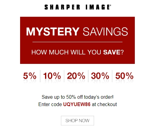 Sharper Image Coupon Codes help you save big on Air Purifiers, Electronics, Best Gifts For Kids · Expert Help By Phone/Chat · Satisfaction Guaranteed · Best Gifts For HimTypes: Gadgets, Electronics, Massage, Man Cave.