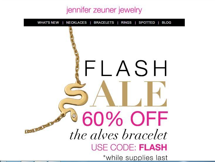Jennifer zeuner coupon