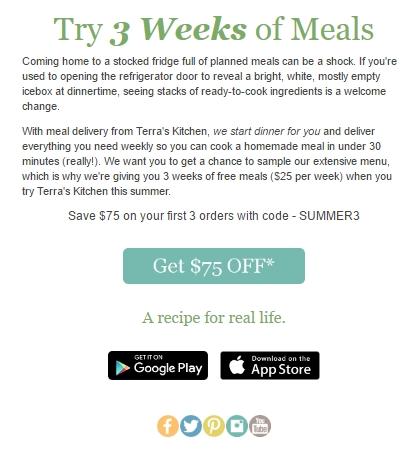 Terra's kitchen coupon code
