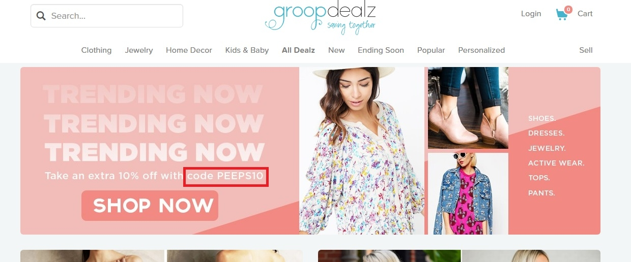 25% Off groopdealz Coupon Codes | Top November, Deals$10 Refer a Friend · 50%% Off Home Decor · New Exclusive Offers · 50%% Off Kids Clothes.