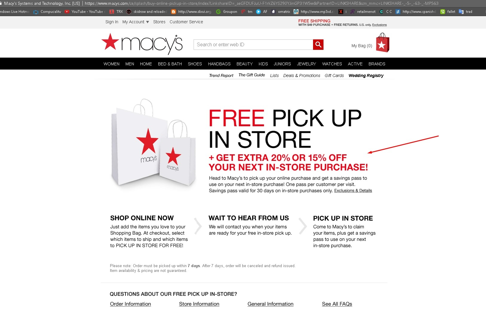 How to use In-Store Printable Coupons You can either print out the coupon or show it on your mobile device to save on your next trip to any Macy's location. Contact Info: You can reach Macy's customers service by phone at: () or by Email. Shoppers can typically save between 15% - 20% off throughout the store with some brand exceptions.