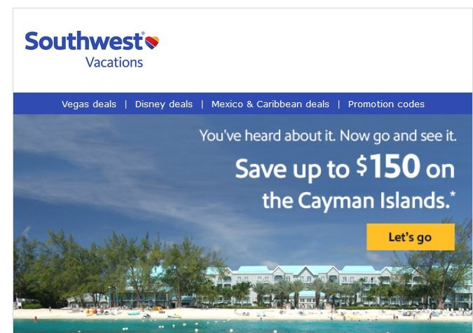 Southwest coupon code 2019