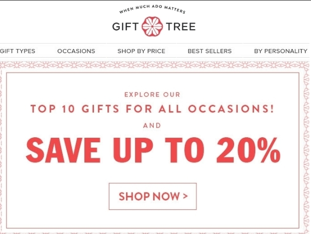 Gift tree coupon code