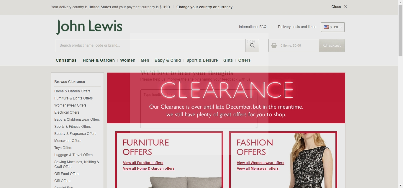 John lewis discount coupon codes