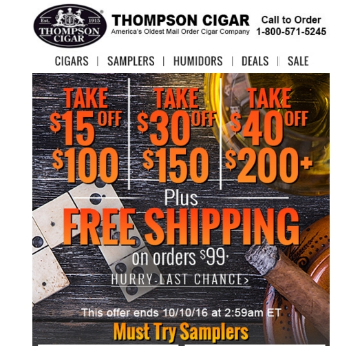 Cigars International features a new free shipping offer every day. With this deal, you not only get free shipping on the featured item, but free shipping on your entire order with purchase. Score freebies and gifts. Cigars International often treats customers to freebies and gifts on qualifying orders. In the past, shoppers have received /5(6).