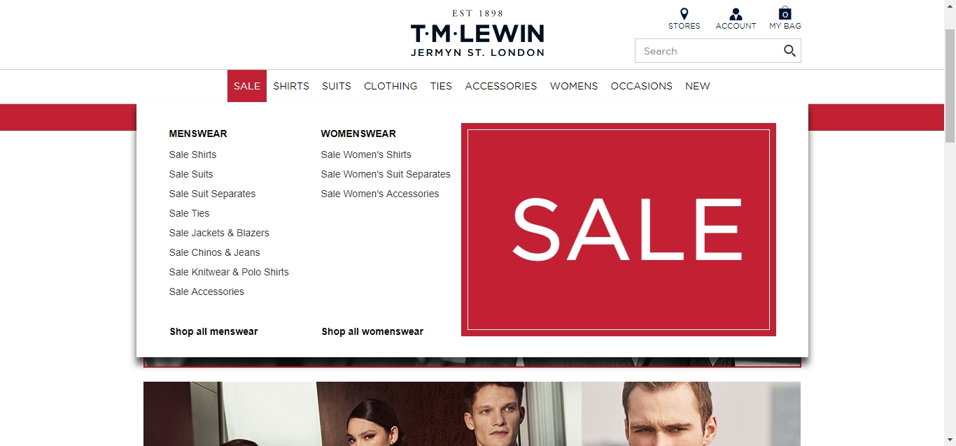 TM Lewin Discount Code & Coupons & Promo Codes. Coupon Codes / Clothing, Shoes & Jewelry / TM Lewin Promotion Code. Add to Your Favorites. from 11 users. Check out our 6 TM Lewin discount codes including 1 coupon code, and 5 sales. Free Delivery over $ Click through to get started. Ends 01/31/ PST%(11).