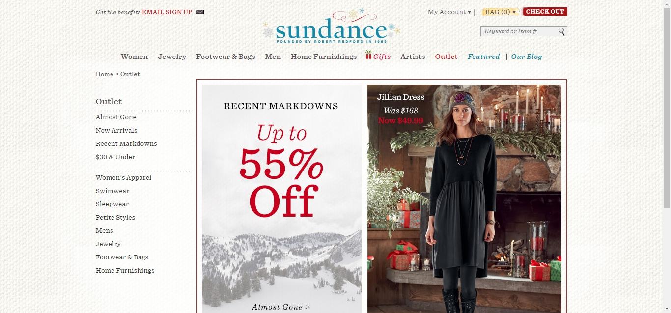 Sundance Catalog Coupons Discounts