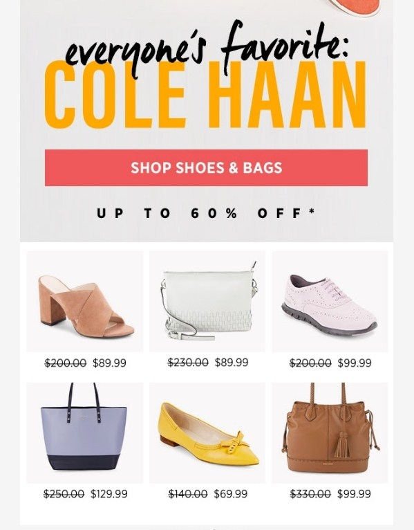 Nov 26, · Cole Haan Promo Codes All Active Cole Haan Coupons & Coupon Codes - Up To 30% off in November The Cole Haan online store is known for its exquisite fashion pieces made from some of the finest leathers.