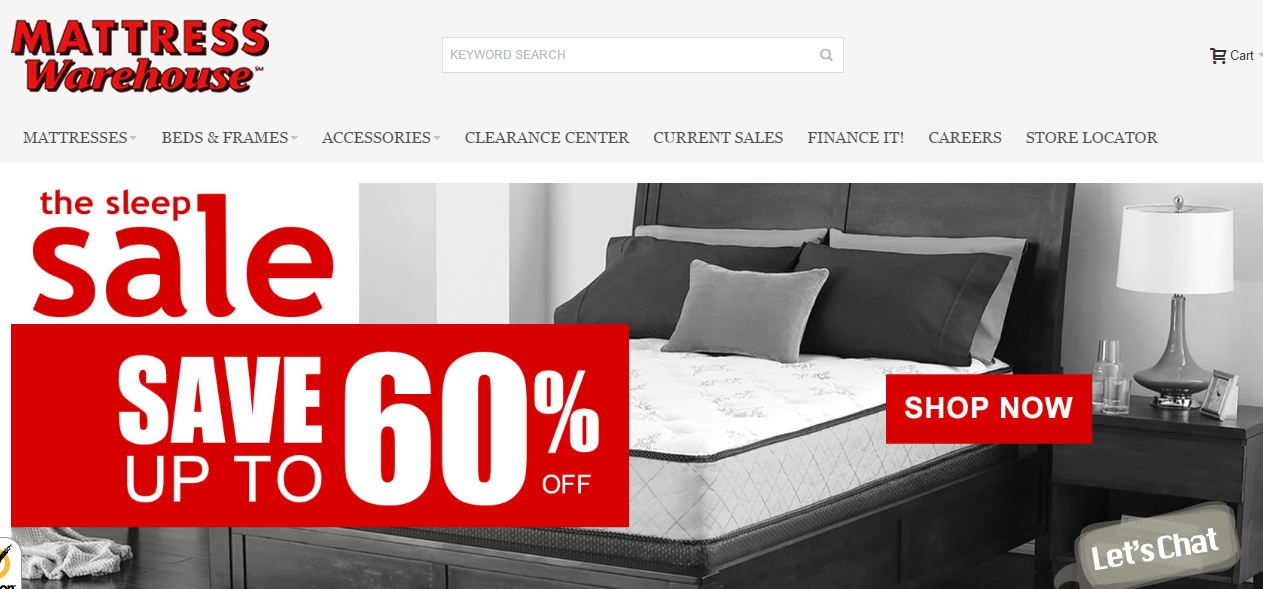 65% f Mattress Warehouse Coupon Code
