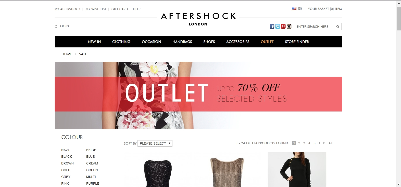 2. Copy Aftershock promo code. Please double check the restriction of the promo code, if it has. 3. Paste Aftershock promo code to the right place when checkout. Please make sure the product you choose meets the requirements. 4. See a deducted price & pay.