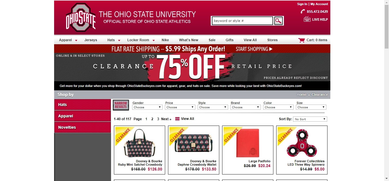 Ohio State Buckeyes competes in the Collegiate & NCAA industry and offers promo codes and coupons for discounts on its website. The company last offered a coupon on November 22, and currently has 8 active promo codes and coupons on its website.