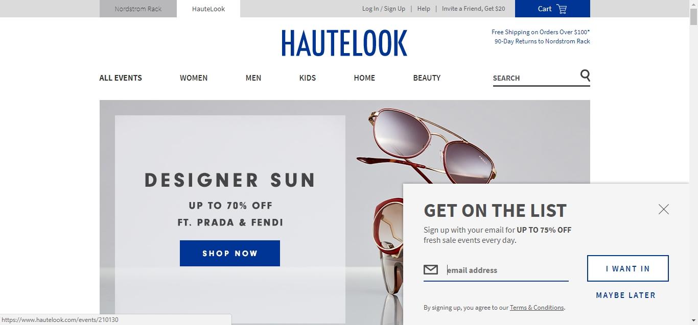 Hautelook coupon codes june 2018