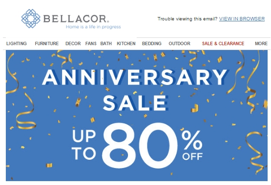 Bellacor coupon code