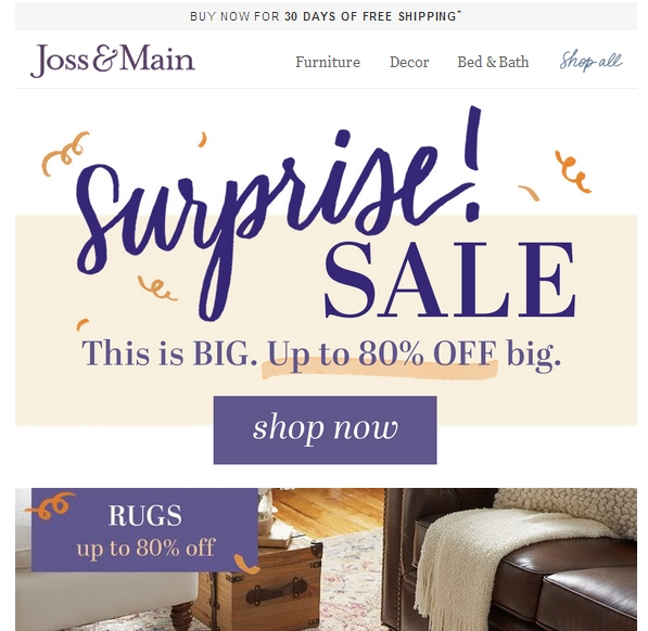 Joss & main coupon code