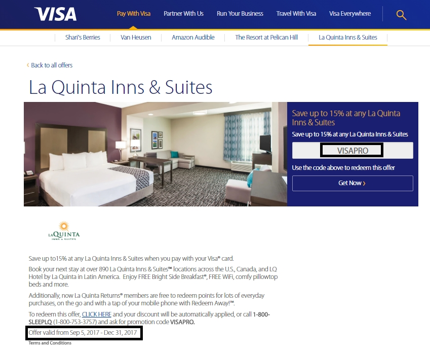 La Quinta Promo Codes website view La Quinta Inns & Suites is a chain of limited service hotels in the United States, Canada, and Mexico. Founded in , they .