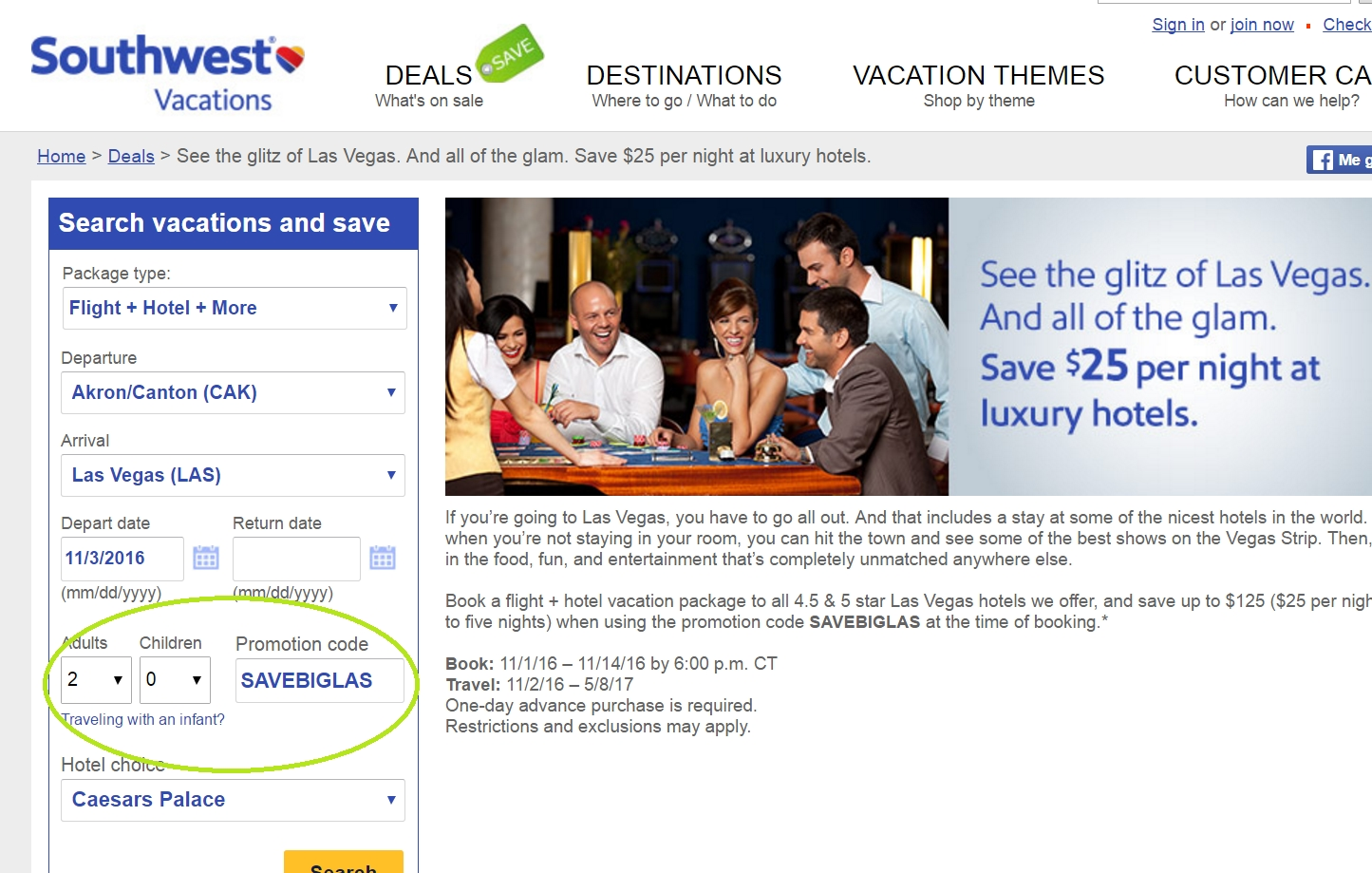 Southwest airline coupon code