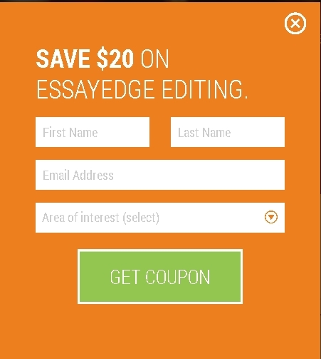 coupon for essayedge Save big with free essay edge coupon codes and discounts for essayedgecom along with hundreds of your favorite online stores.