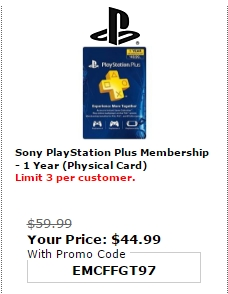 Sony rewards coupon code