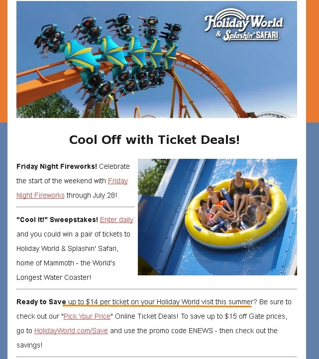 Holiday World Discount Tickets Kroger 2019 - Coupons 2018 ...