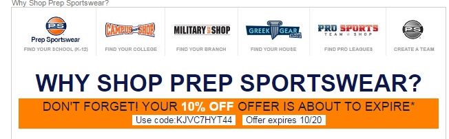This includes tracking mentions of Prep Sportswear coupons on social media outlets like Twitter and Instagram, visiting blogs and forums related to Prep Sportswear products and services, and scouring top deal sites for the latest Prep Sportswear promo codes.