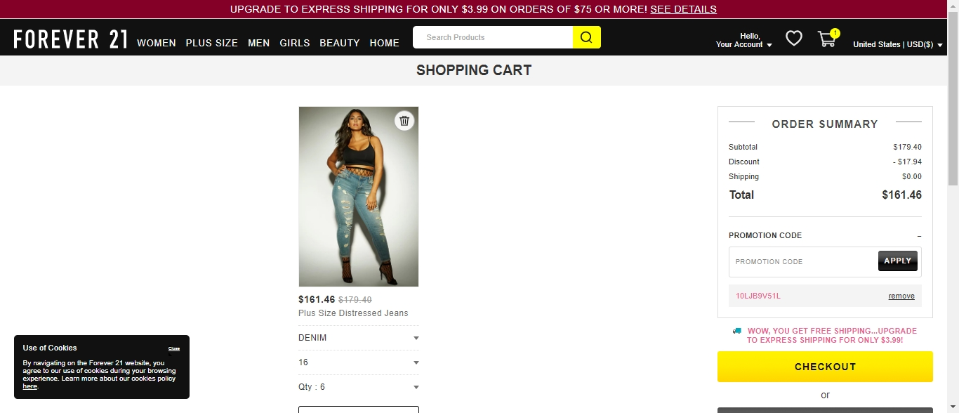 Forever 21 coupon code 10 off 2018