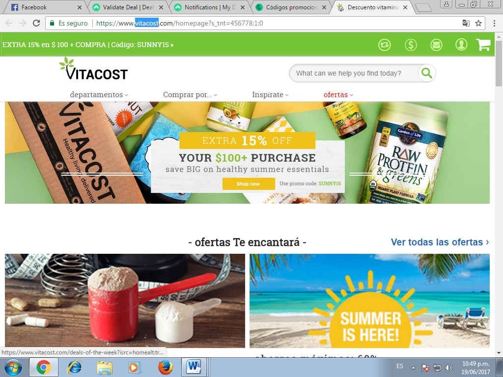 Find the best Vitacost promo codes, coupons, deals and discounts for December Save instantly and get cash back with CouponCabin today!