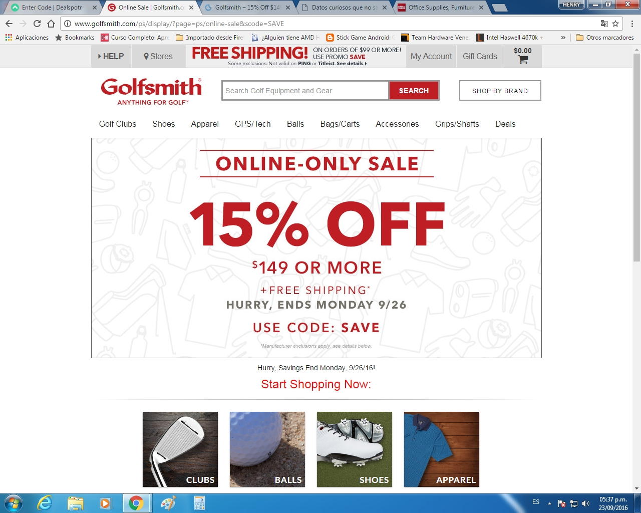 photograph about Golfsmith Printable Coupons named Golfsmith leist discount coupons / Homeshop18 low cost discount coupons may perhaps