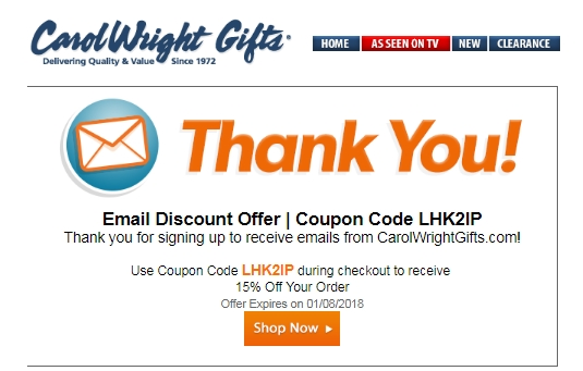 Carol wright coupons free shipping