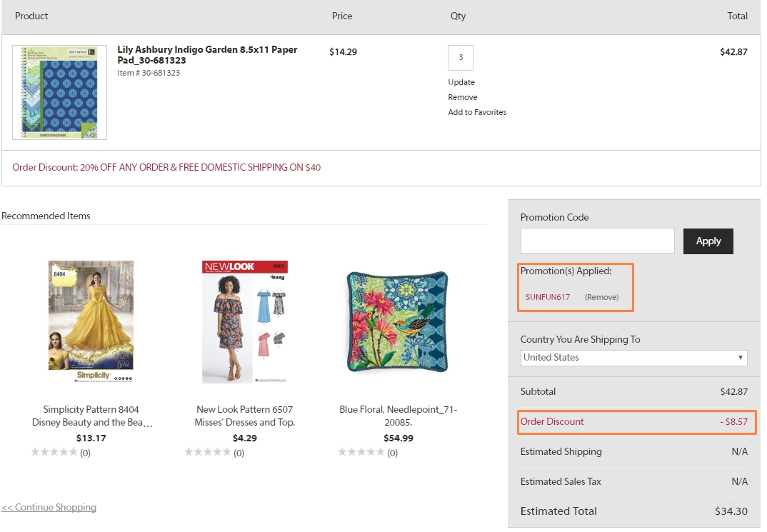 If you're looking for a specific sewing pattern, you can browse by new patterns, men, women, children, maternity, special occasion, costumes and more. When you use Simplicity coupons from Giving Assistant, you'll find extra savings on all your craft and sewing needs, while Simplicity promo codes will help you find further discounts and savings.