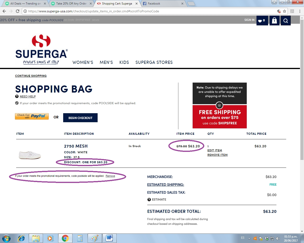 Superga coupon code