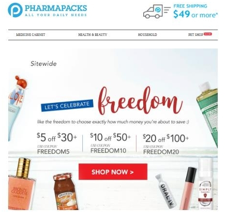 Pharmapacks coupon code