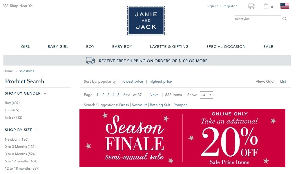 Janie and jack coupon code