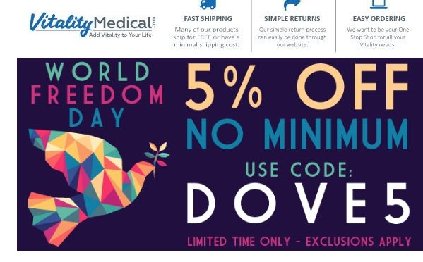 Vitality medical discount coupons