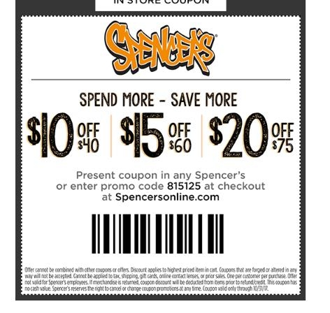 25% Off Spencer's Gifts Coupon Codes | Top November, DealsTop Rated Coupons · Best Deals Available · You Save, We Donate · New Offers AddedTypes: Coupon Codes, Discounts, Promotions, Clearance, Sale, Shipping Deal.