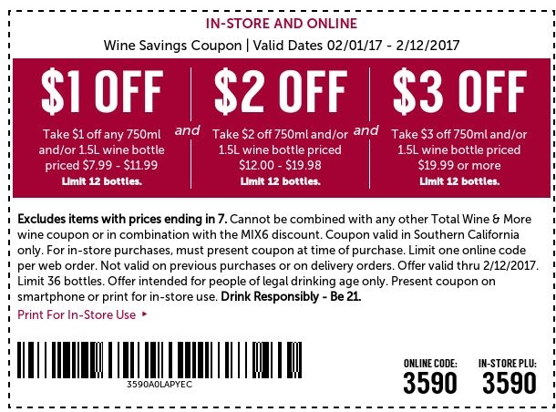 Total wine coupon code