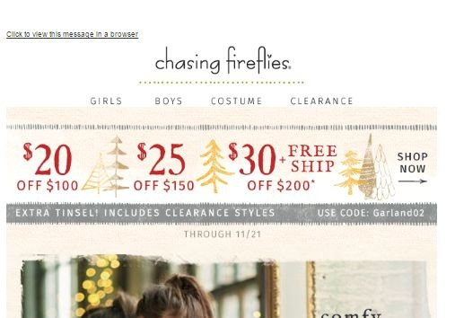 Chasing Fireflies is a popular baby products retailer which operates the website downloadsolutionles0f.cf As of today, we have 5 active Chasing Fireflies promo codes, 8 single-use codes and 3 sales. The Dealspotr community last updated this page on November 28, /5(10).