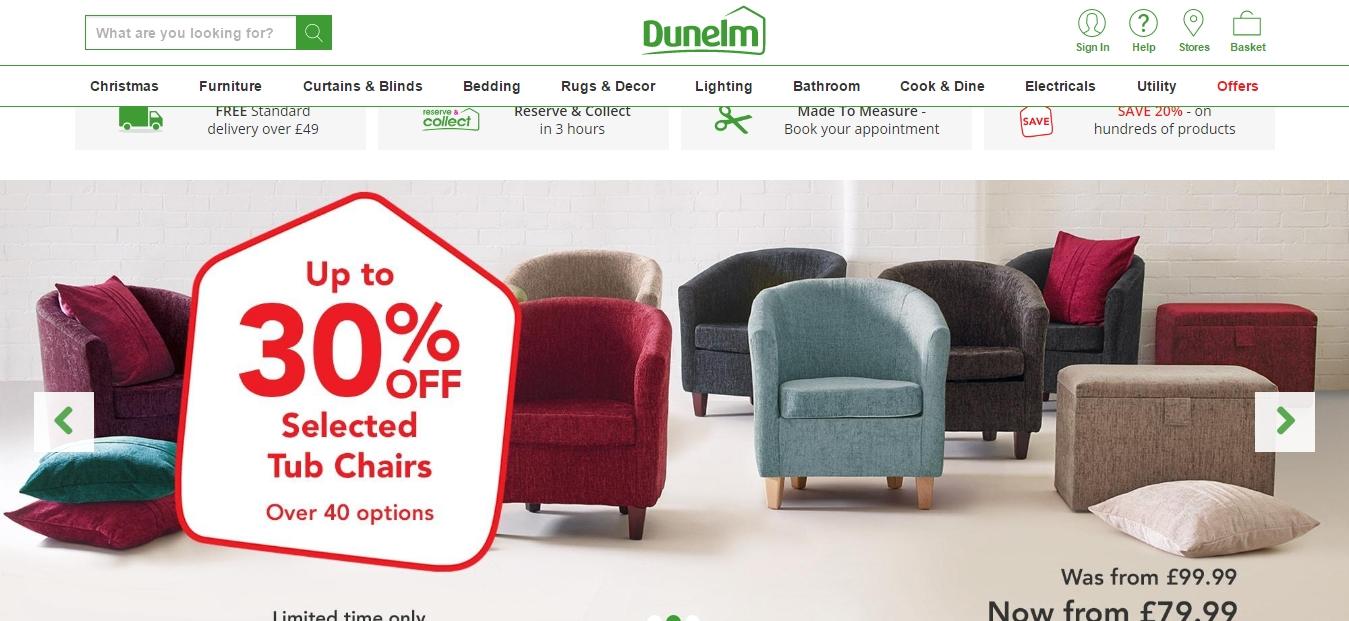 30 off dunelm coupon code save 20 in feb w promo code. Black Bedroom Furniture Sets. Home Design Ideas